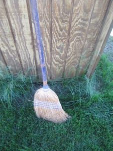 Shed broom